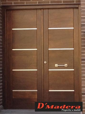 Puertas exterior fabrica puertas de madera puertas de for Fabrica de puertas de interior