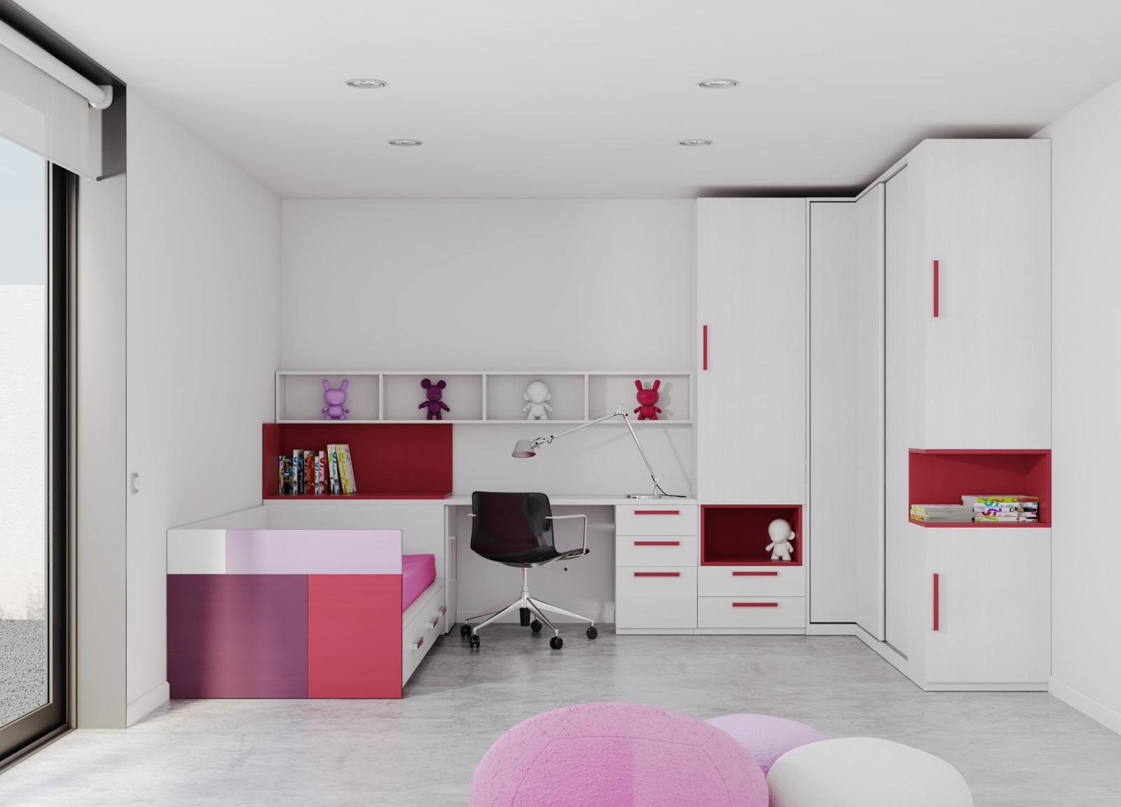 Carpinteria puertas armarios y muebles de cocina en totana for Espejos habitacion juvenil