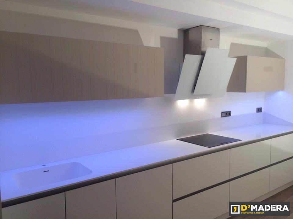 Iluminacion para cocina integral