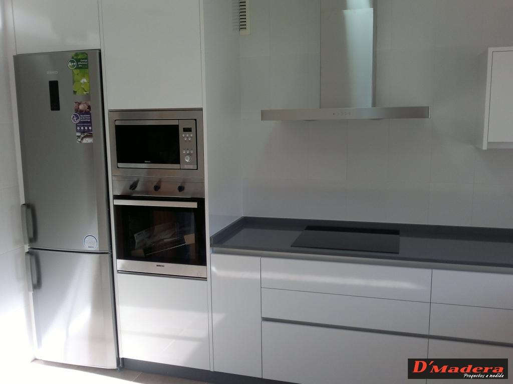 Casas cocinas mueble tirador cocina - Tiradores de cocina modernos ...