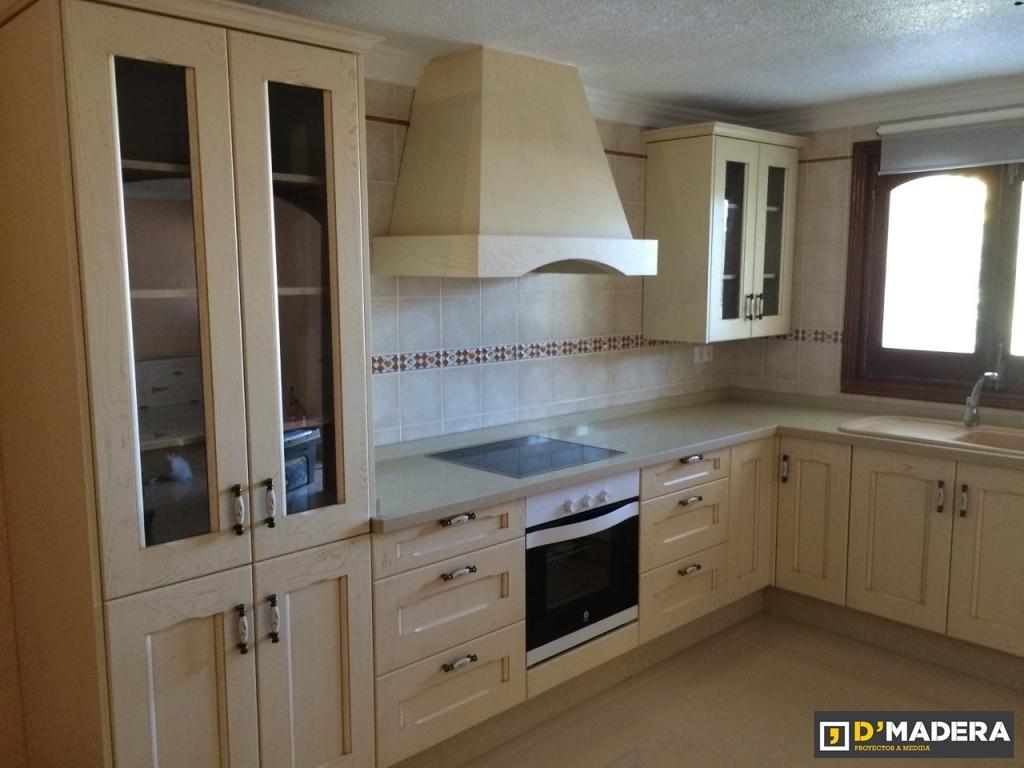 Cocinas Trabajos Carpinter A D Madera # Muebles De Cocina De Madera
