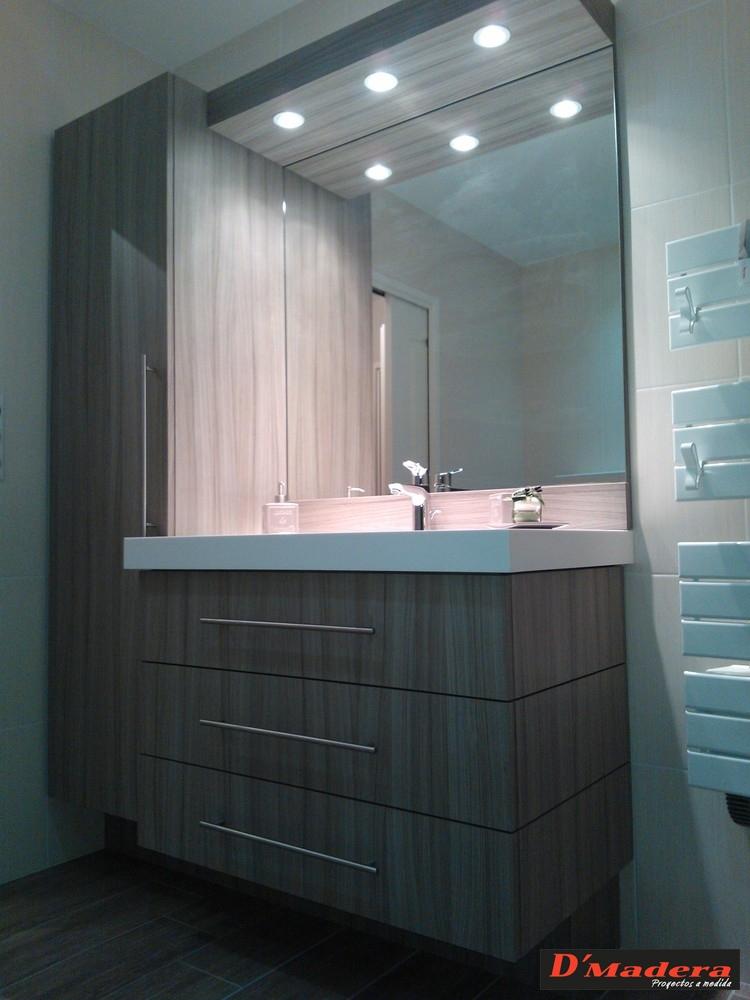 mueble de baño en formica de alta presión