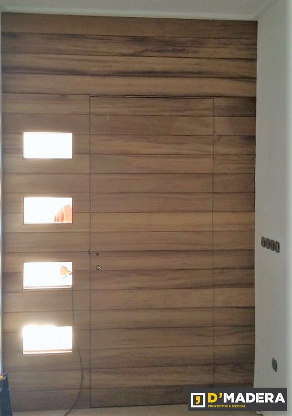 Puertas de madera exterior modernas dise os for Puertas de madera exterior