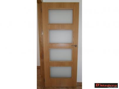 Puertas interior trabajos carpinter a d madera - Puertas de interior de roble ...